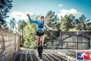 Sabina in Mudland - Spartan Berlijn Balans behouden