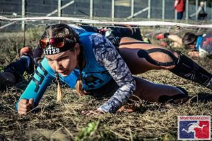 Sabina in Mudland - Spartan Berlijn Full focus