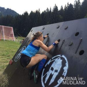 Sabina in Mudland - Spartan Race Romania Halfway Olympus
