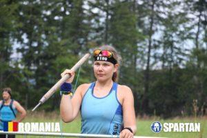 Sabina in Mudland - Spartan Race Romania I dont wanna do burpees