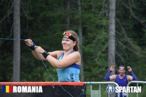 Sabina in Mudland - Spartan Race Romania Its stuck