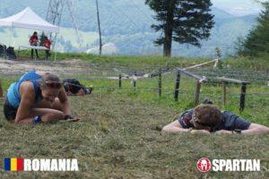 Sabina in Mudland - Spartan Race Romania Nap time
