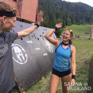 Sabina in Mudland - Spartan Race Romania Olympus