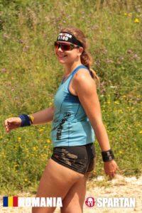 Sabina in Mudland - Spartan Race Romania Say cheese
