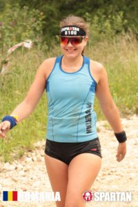 Sabina in Mudland - Spartan Race Romania Sunglasses